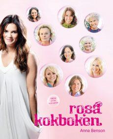 Omslag (fram) Rosa Kokboken - Karin Tingstedt