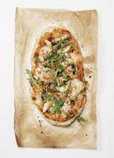Sanna Brådings glutenfria pizza - Foto Andreas Hylthén